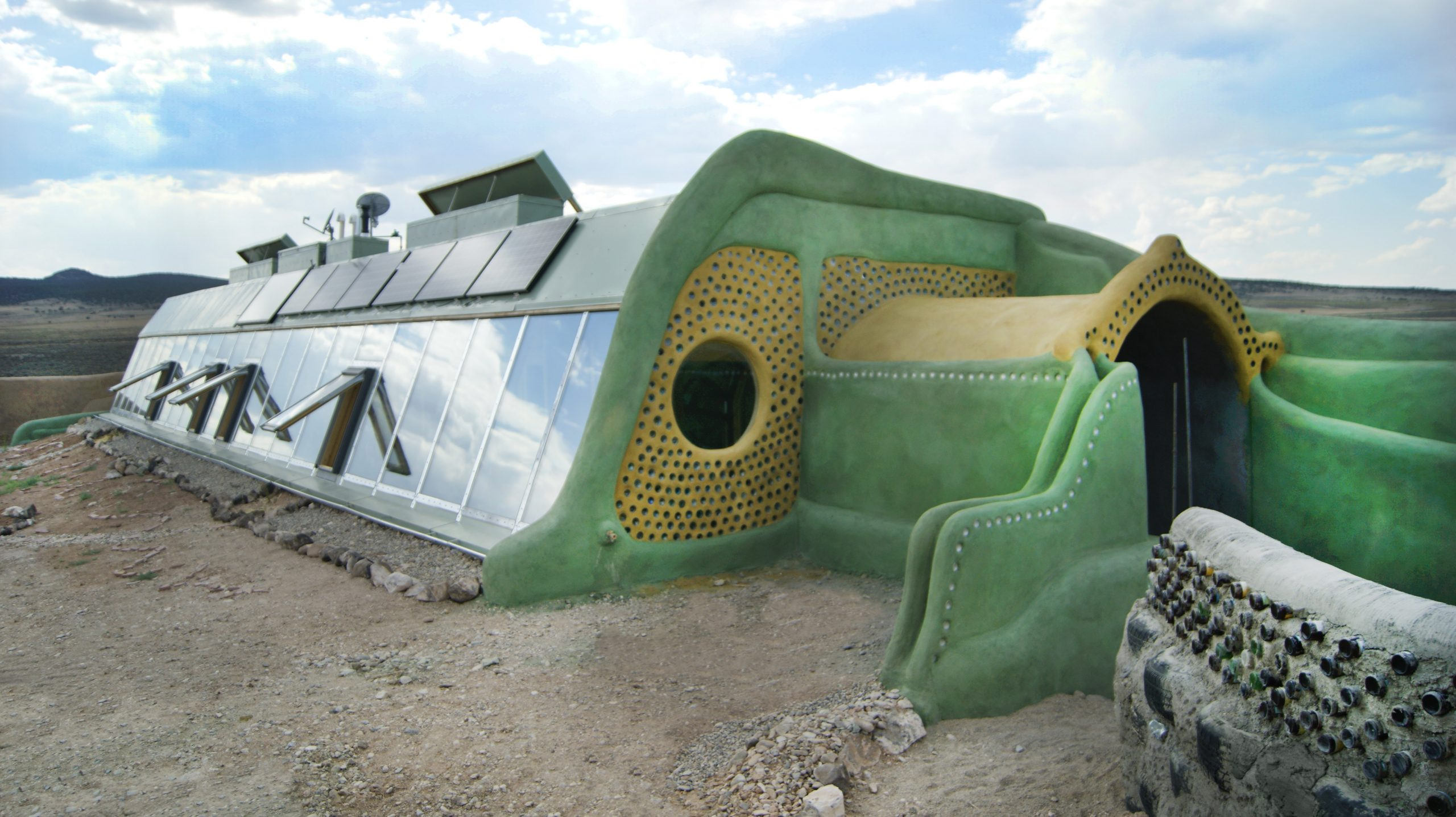 Earthships au Taos
