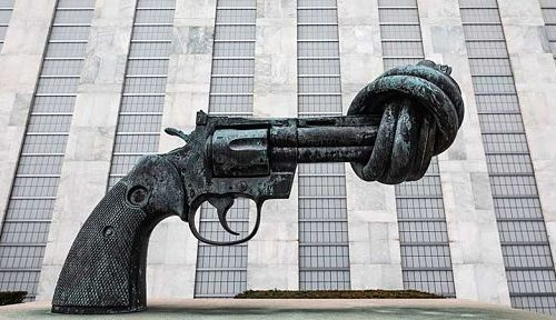 statue non-violence